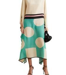JSDC Digital Printed Satin Silk Kaftan for Women Lounge Wear