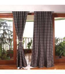 Black Grey 100% Polyester  curtain