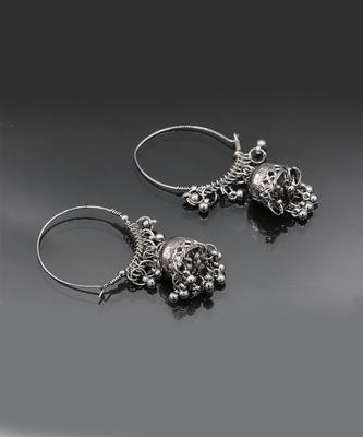 Silver  plated Earrings