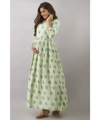 Rayon Maternity kurties (gown )