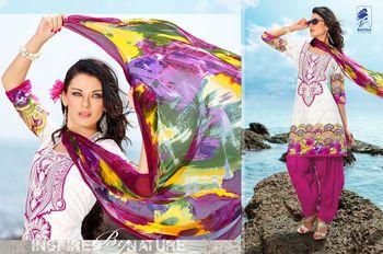 Designer Dress Material Jadui 3003