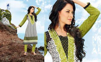 Designer Dress Material Jadui 3005