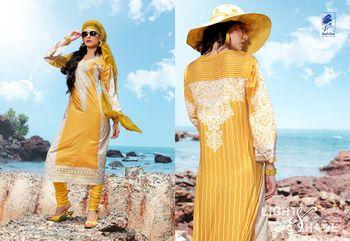Designer Dress Material Jadui 3007
