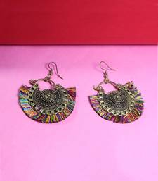 Multicolor silver plated Earrings