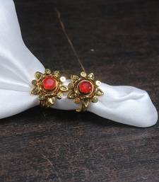 Gold Plated Flower Shape Toe RIng