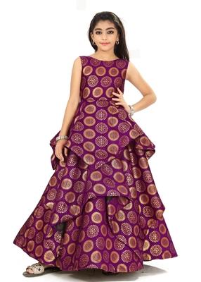 Kids Bit Gown Dress For Girls