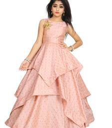 Kids Pink Gown For Dress
