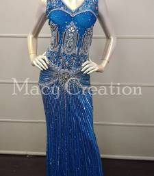 Women Sexy Mermaid Party Ball Gown Fishtail Double Shoulder Long Dress Size S