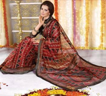 Designer Supernet Sari Jadoo1103
