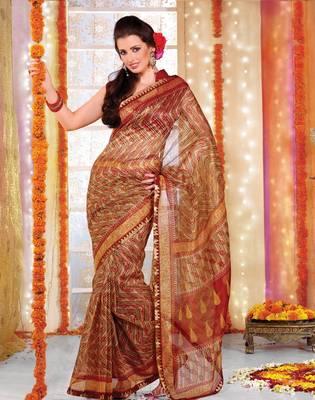 Designer Supernet Sari Jadoo1111