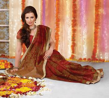 Designer Supernet Sari Jadoo1112