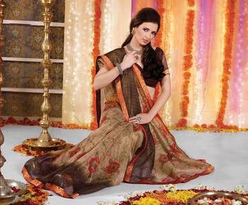 Designer Supernet Sari Jadoo1116