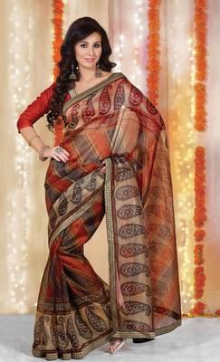 Designer Supernet Sari Jadoo1123