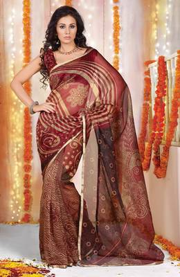 Designer Supernet Sari Jadoo1131