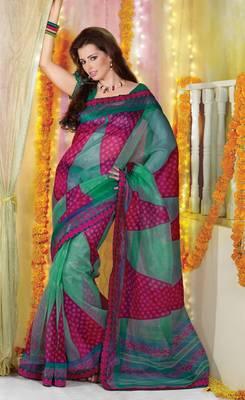 Designer Supernet Sari Jadoo1134