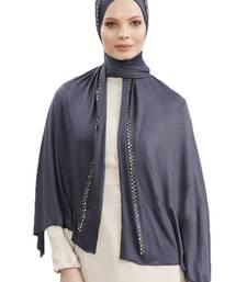 JSDC Diamond Stone Work Stretchable Women Scarf Hijab Dupatta