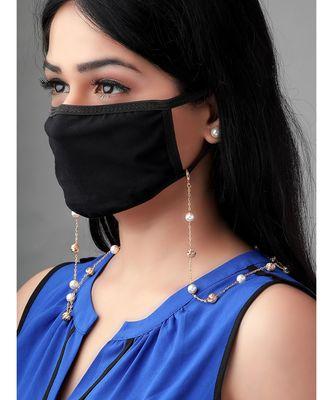 Golden Multipurpose mask Chain