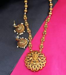 Temple Jewellery Set For Women