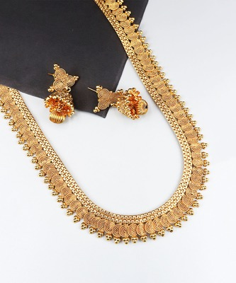 Gold Plated South Indian Traditional Necklace Sets