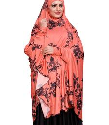 JSDC Free Size Women Long Instant Chaderi Abaya Hijab Scarf Makhna