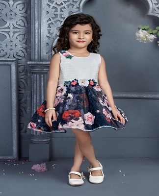 grey velvet kids frocks