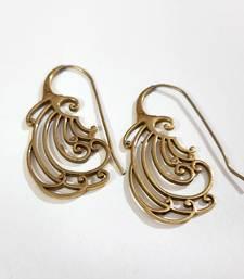 Bronze agate earrings