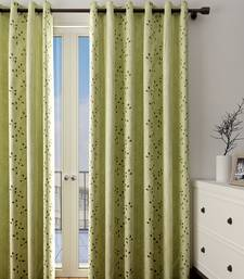 Long Size Embroidery Semi Share Door Curtains