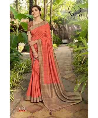 Pink silk sarees Traditional Saree with Contrast Border