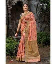Pink gadwal sarees Traditional Saree with Contrast Border
