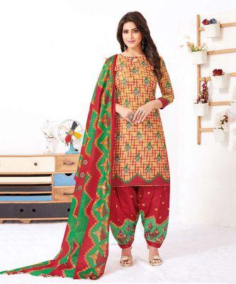 multicolor cotton dress