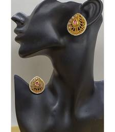 antique gold AlloyEarrings