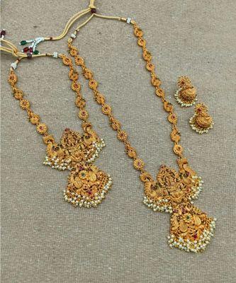 antique gold Alloynecklace-sets