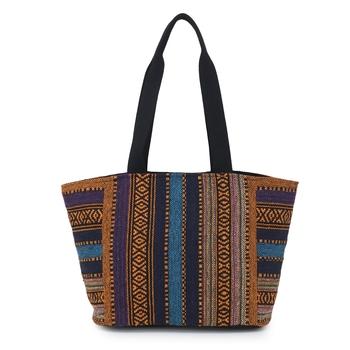 canvas multicolor Handbag