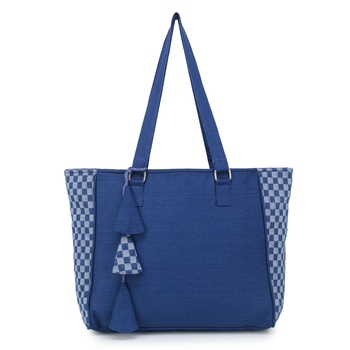 Casual Tote Bag with Tassels