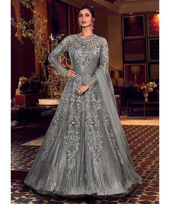 Heavy Net Wedding Gown for Bride & Bridesmaid