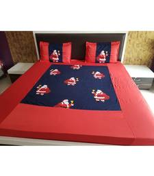 300TC Pure Cotton Fitted King Size Bedsheet With 2 Pillow CoversK3043GC-30X_12