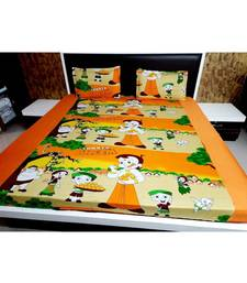 250TC Pure Cotton Fitted King Size Bedsheet With 2 Pillow CoversK3129GCC-25X_10.5