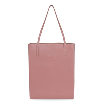 NFI essentials Shopping Large Tote Bags for Ladies Travel Bag for Women Big Hand Bag (Dark Pink)