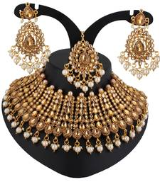 Brown cubic zirconia necklace-sets