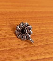 Black nose-ring
