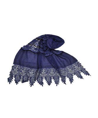 Blue Cotton   Premium Hijab