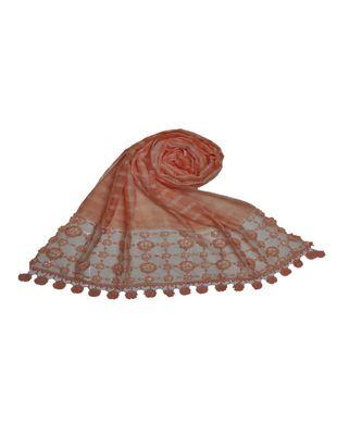 Orange Cotton   Premium Hijab