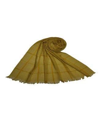 Yellow Cotton   Premium Scarf
