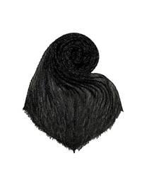 Black Cotton   Premium Stole
