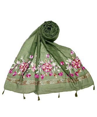 Green Cotton   Premium Hijab