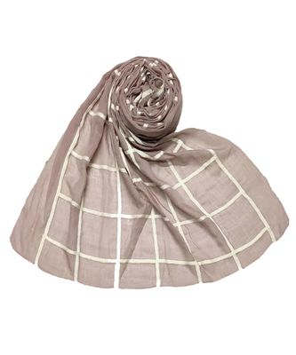 Purple Cotton   Premium Scarf