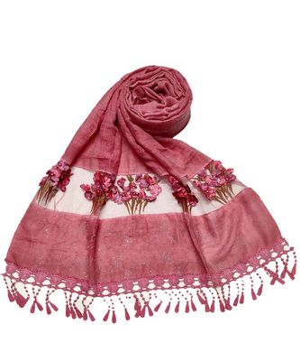 Maroon Cotton   Premium Hijab