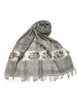 Grey Cotton   Premium Scarf
