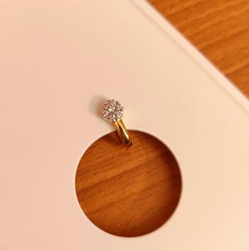 White nose-ring