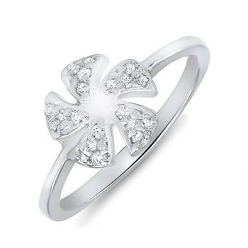 Mahi Five-Petal Ring
